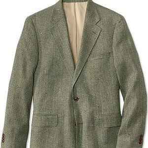 Silk Tweed Sport Coat/Long